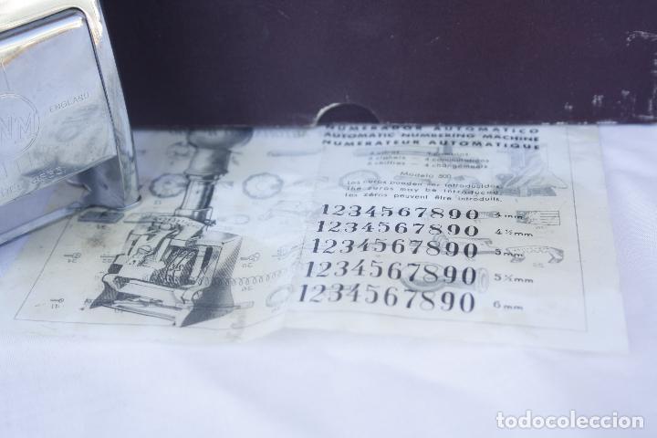 Antigüedades: Numerador marca ENM Model 4533 - automático. - Foto 3 - 95739631