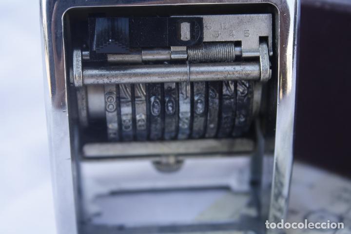 Antigüedades: Numerador marca ENM Model 4533 - automático. - Foto 4 - 95739631
