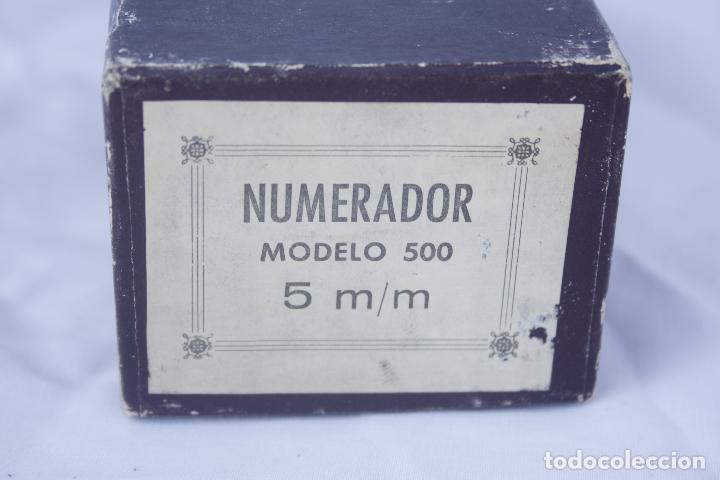 Antigüedades: Numerador marca ENM Model 4533 - automático. - Foto 5 - 95739631