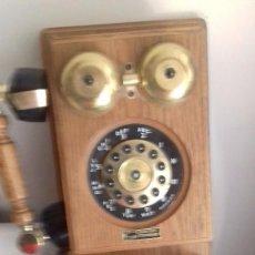 Teléfonos: TELEFONO DE MADERA AÑOS 80. Lote 95757715
