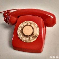 Teléfonos: TELEFONO ROJO CITESA AÑOS 70 EN PERFECTO ESTADO. Lote 95824271