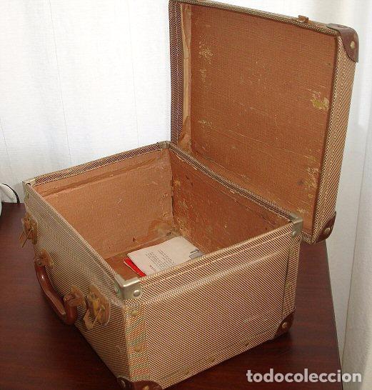 Antigüedades: MINIATURA MAQUINA DE COSER ESSEX, FUNCIONA Y COSE - Foto 9 - 45906893
