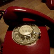 Teléfonos: TELÉFONO PRECIOSO ROJO DE RUEDA.. Lote 95868567