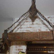 Antigüedades: LAMPARA DE POLEA. Lote 95912707