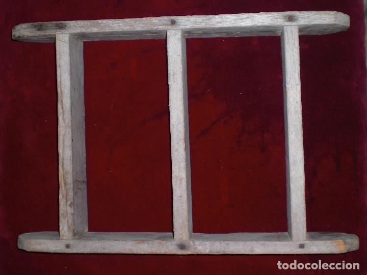 ANTIGUO MOLDE DE LADRILLOS (Antigüedades - Técnicas - Herramientas Profesionales - Albañileria)