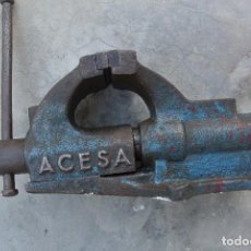 Antigüedades: TORNILLO DE BANCO ACESA . Lote 95964067