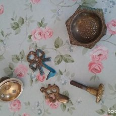Antigüedades: LOTE DE 5 PIEZAS ANTIGUAS. Lote 95977291