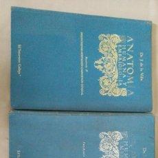 Antigüedades: ANATOMIA HUMANA Y EMBRIOLOGIA FASCICULOS I Y II. Lote 96143435