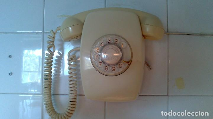 Teléfonos: Teléfono de pared, color crema, años 70 - Foto 2 - 96297123