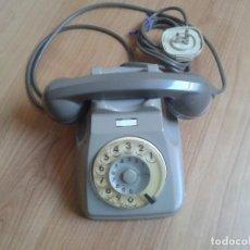 Teléfonos: TELÉFONO ANTIGUO ITALIANO - FUNCIONA - TONALIDADES GRIS -- AÑOS 60. Lote 96372031