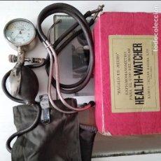 Antigüedades: HEALTH WATCHER ESFIGMOMANOMETRO EN CAJA MADE IN JAPAN. Lote 96439483