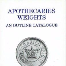 Antigüedades: PONDERALES DE BOTICARIOS APOTHECARIES WEIGHTS DE NORMAN BIGGS. Lote 96463051