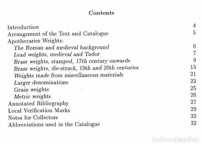 Antigüedades: ponderales de Boticarios Apothecaries Weights de Norman Biggs - Foto 3 - 96463051