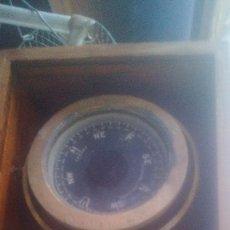 Antigüedades: COMPAS ANTIGUO EN BRONCE. Lote 96529259