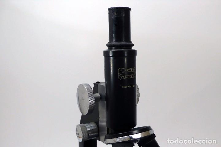 Antigüedades: Microscopio Kremp Wetzlar- West Germany - Foto 6 - 96551543
