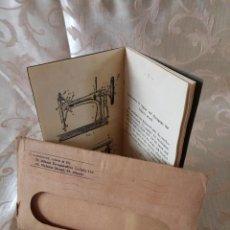 Antigüedades: ANTIGUO LIBRO INSTRUCCIONES DE MÁQUINA DE COSER G & H, CON 12 ILUSTRACIONES. Lote 96576507