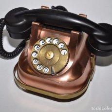 Teléfonos: TELÉFONO BELL TELEPHONE EN COBRE - BÉLGICA. Lote 96641103