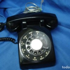 Teléfonos: -ANTIGUO TELÉFONO DE BAQUELITA MARCA WESTERN ELECTRIC MADE IN .S.A.- AÑOS 50 - REVISADO Y FUNCIONA. Lote 96713863