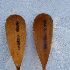 Antigüedades: PAREJA DE REMOS. Lote 96729559