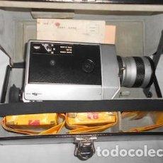 Antigüedades: CÁMARA SUPER 8 CANON AUTOZOOM 814, EN SU ESTUCHE DE CUERO, CON 2 PELÍCULAS SIN ABRIR. Lote 192264183