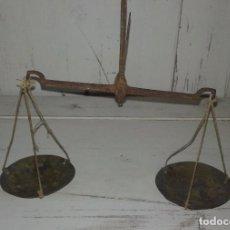 Antigüedades: BALANZA DE HIERRO SIGLO XVIII. Lote 96858171