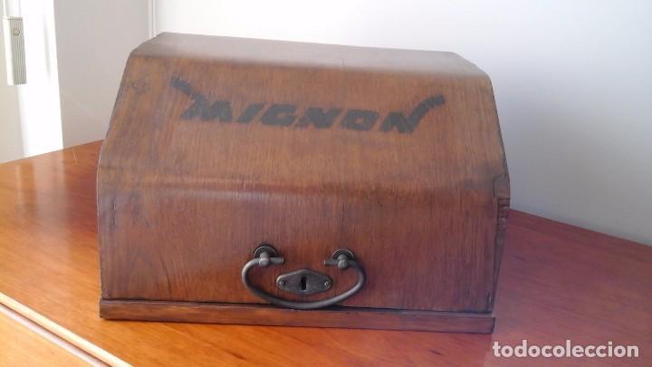 Antigüedades: Maquina de escribir Mignon, modelo 4. - Foto 4 - 185957721