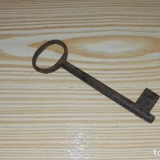 Antigüedades: LLAVE ANTIGUA 15.5 CM.. Lote 96943775