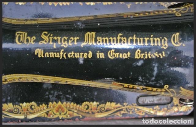 Antigüedades: MAQUINA DE COSER SINGER - Foto 6 - 96943911