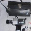 Antigüedades: CÁMARA LOADMATIC MP-303 SOUND TL SUPER 8, EN SU ESTUCHE DE CUERO. Lote 96959691