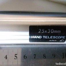 Antigüedades: TELESCOPIO DE MANO 25 X 30. Lote 97005887