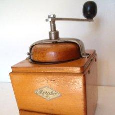 Antigüedades: MOLINILLO DE CAFÉ MARCA METABO, ANTIGUA ALEMANIA DEL ESTE. CA. 1953/1968.. Lote 97173963
