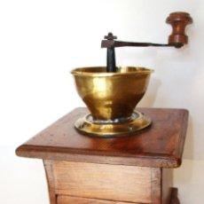 Antigüedades: MOLINILLO ARTESANO DE CAFÉ, DE OREJAS. FRANCIA. CA. MEDIADOS SIGLO XIX . Lote 97174215