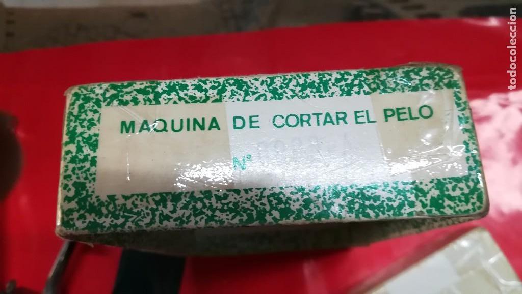 Antigüedades: MAQUINA DE CORTAR EL PELO CASA MONTANER - Foto 5 - 97196347