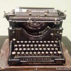 Antigüedades: MÁQUINA DE ESCRIBIR UNDERWOOD STANDARD TYPEWRITER Nº5. (U.S.A. 1911). Lote 97233883