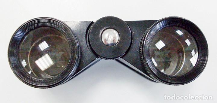Antigüedades: ANTIGUOS PRISMÁTICOS BINOCULARES GEMELOS DE ÓPERA TEATRO MADE IN ENGLAND. ROSS OPEROS. - Foto 3 - 97294391