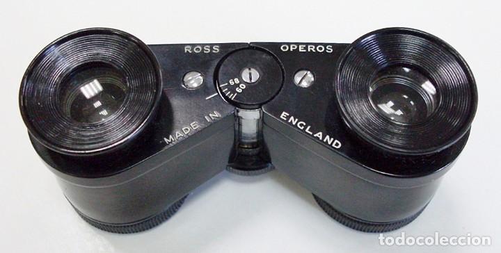 Antigüedades: ANTIGUOS PRISMÁTICOS BINOCULARES GEMELOS DE ÓPERA TEATRO MADE IN ENGLAND. ROSS OPEROS. - Foto 6 - 97294391