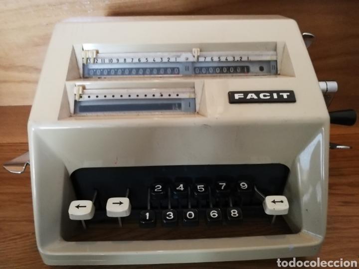 Antigüedades: Calculadora mecánica Facit - Foto 2 - 97355160