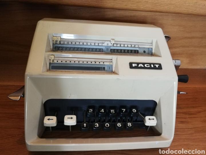 Antigüedades: Calculadora mecánica Facit - Foto 3 - 97355160