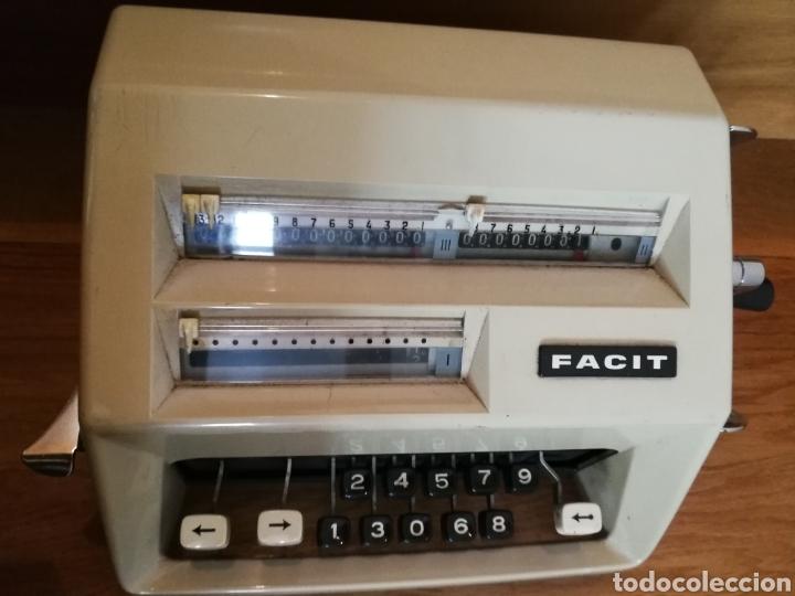 Antigüedades: Calculadora mecánica Facit - Foto 4 - 97355160
