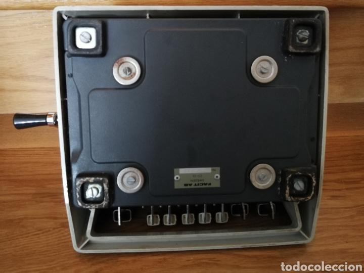 Antigüedades: Calculadora mecánica Facit - Foto 8 - 97355160