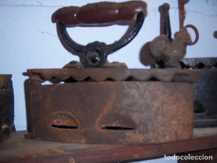 PLANCHA ANTIGUA DE CARBON (Antigüedades - Técnicas - Planchas Antiguas - Carbón)