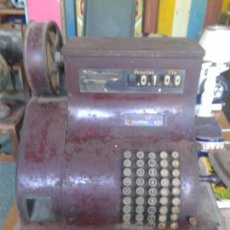 Antigüedades: REGISTRADORA NATIONAL DE MANIVELA AÑO 1932. Lote 97527863