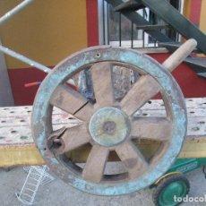 Antigüedades: ANTIGUO TIMON DE BARCO ANTIGUO. Lote 97529775