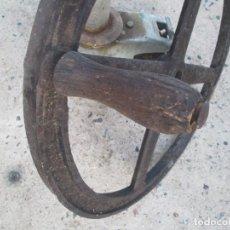 Antigüedades: ANTIGUO TIMON DE BARCO ANTIGUO. Lote 97529991