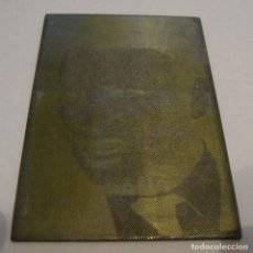 Antigüedades: (TC-107) MUY DIFICIL PLANCHA CLICHE IMPRENTA DE ANGELILLO. Lote 97534415