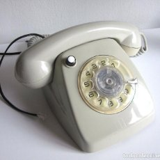 Phones - Teléfono Heraldo Citesa Málaga con botón de transferencia verde claro adaptado funcionando - 97551527