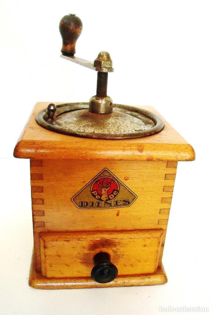 Antigüedades: MOLINILLO DE CAFÉ MARCA DIENES. MODELO 435. ALEMANIA. CA 1950 - Foto 4 - 97628151