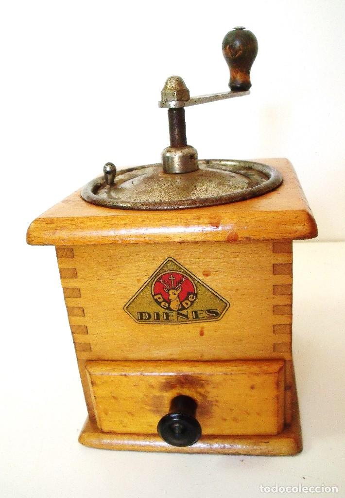 Antigüedades: MOLINILLO DE CAFÉ MARCA DIENES. MODELO 435. ALEMANIA. CA 1950 - Foto 5 - 97628151