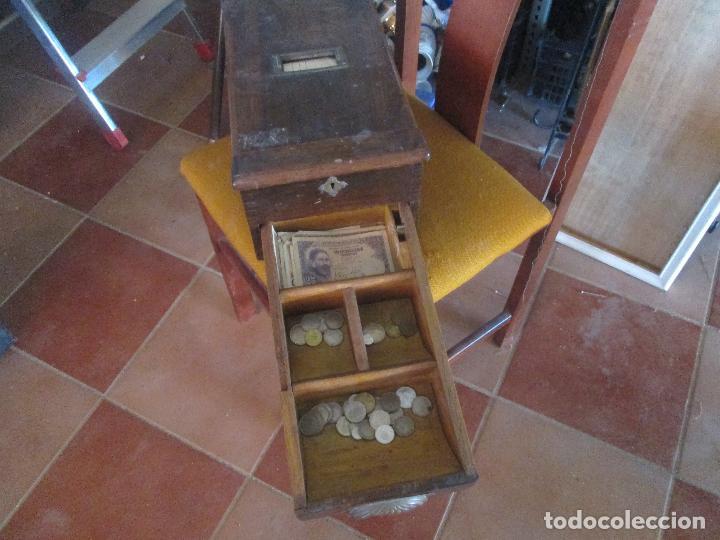Antigüedades: atigua caja registradora - Foto 4 - 97692875
