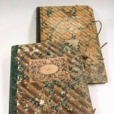 Antigüedades: CUADERNO DE BITÁCORA , 2 DIARIOS DE NAVEGACIÓN, AÑO 1873-76. HABANA-MAHÓN, ETC.. Lote 97707863